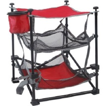 Picnic Table Folding Outdoor Camping Travel Hiking Fishing Storage Mesh  - $26.99