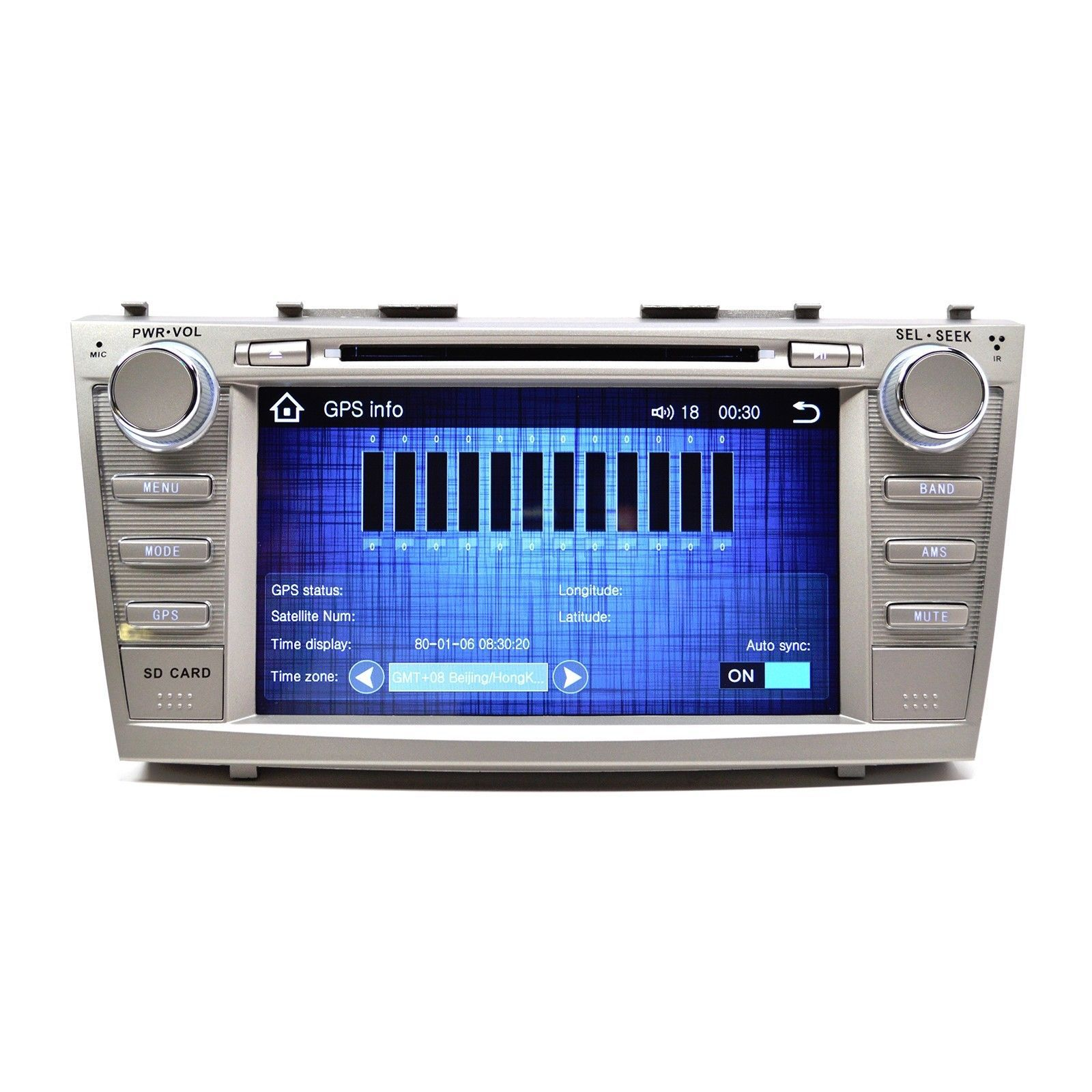OE FIT IN DASH TOUCH SCREEN GPS  NAVIGATION RADIO FOR TOYOTA CAMRY 07-11