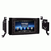 IN DASH OE DIRECT PLUG AND PLAY GPS BLUETOOTH DVD RADIO FOR HYUNDAI SANT... - $494.99