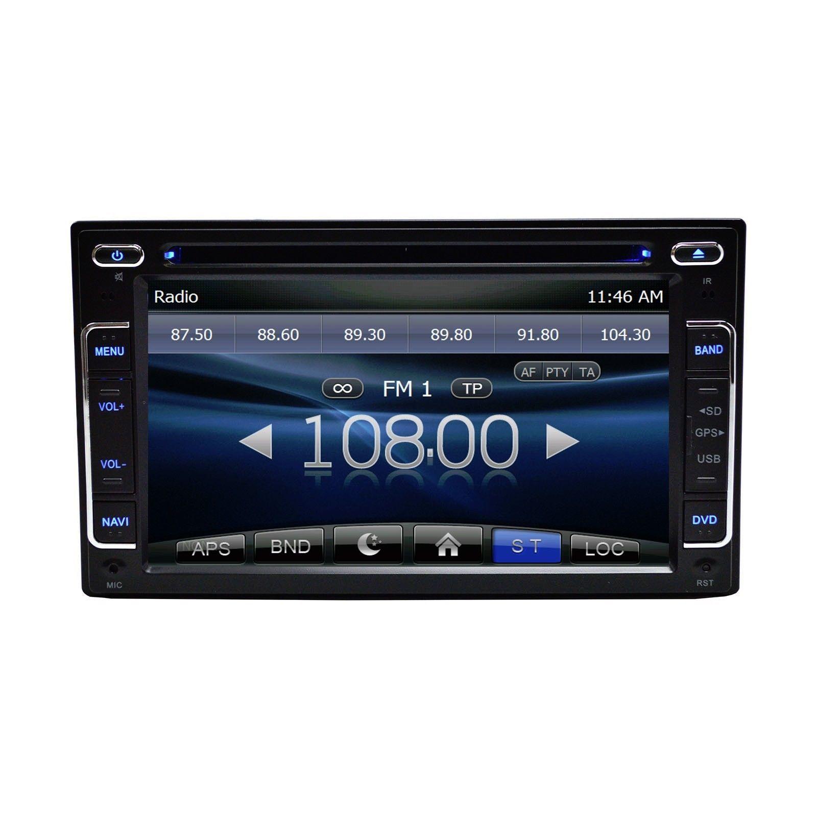 IN DASH OE DIRECT PLUG AND PLAY GPS BLUETOOTH DVD RADIO FOR HYUNDAI SANTA FE