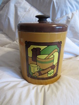 Vintage RANSBURG 1973 Bisquick Advertising Tin,Storage Cannister for Dec... - $24.00