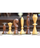 Reproduced ANRI Space Age Chess Set by Arthur Elliott in Sheesham Wood S... - $116.99
