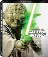 Star Wars: Trilogy - Episodes I-III [Blu-ray+DVD] - $18.95