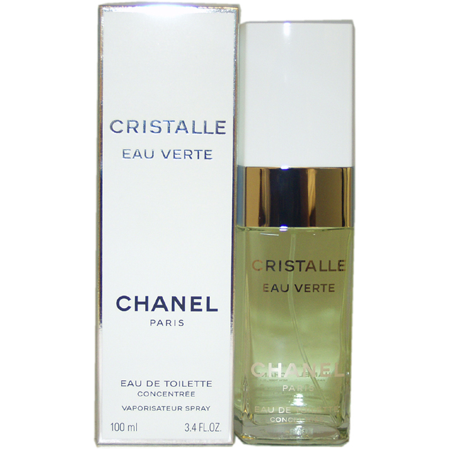 cristalle eau verte by chanel for women 3 4 oz edt spray. Black Bedroom Furniture Sets. Home Design Ideas