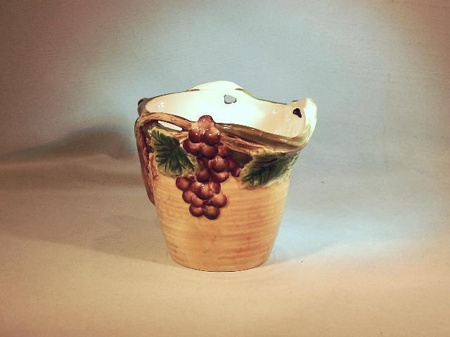 Pacific Rim Handpainted Grape Pattern Creamer / Pitcher - Excellent Item!