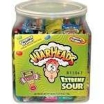 WarHeads Extreme Sour Hard Candy - 240-Piece Tub - $62.06