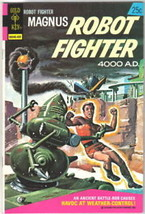 Magnus Robot Fighter Comic Book #36 Gold Key 1974 VERY FINE - $14.98
