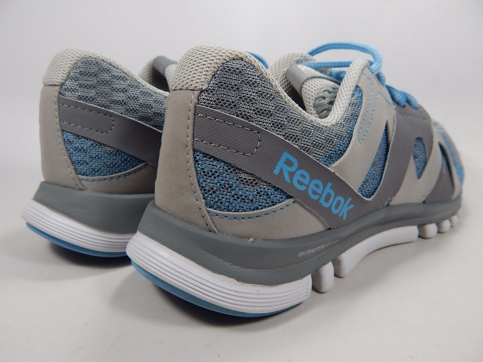 Reebok Sublite Duo Women's Running Shoes Size US 7.5 M (B) EU 38 Gray Blue