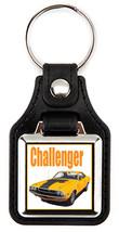 1970 Dodge Challenger RT Banana Key Chain Key Fob  - $7.50