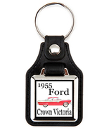 Ford Crown Victoria 1955 in red Key Chain Key Fob  - $7.50