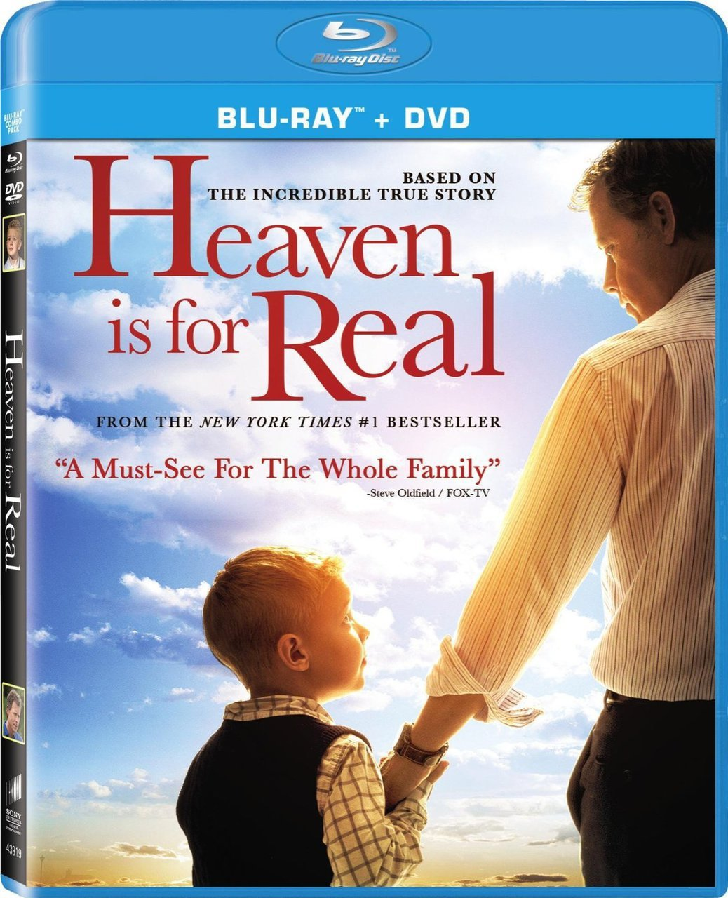 Heaven is for real   blu ray   dvd