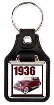 1936 Ford in maroon  Key Chain Key Fob  - $7.50