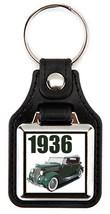 1936 Ford in green  Key Chain Key Fob  - $7.50