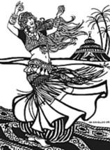 Folkwear #144 American Tribal Style Belly Dancer Sewing Pattern (Pattern Only) - $19.95