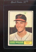 1961 TOPPS #85 JERRY WALKER VG CREASE *118636 - $1.75