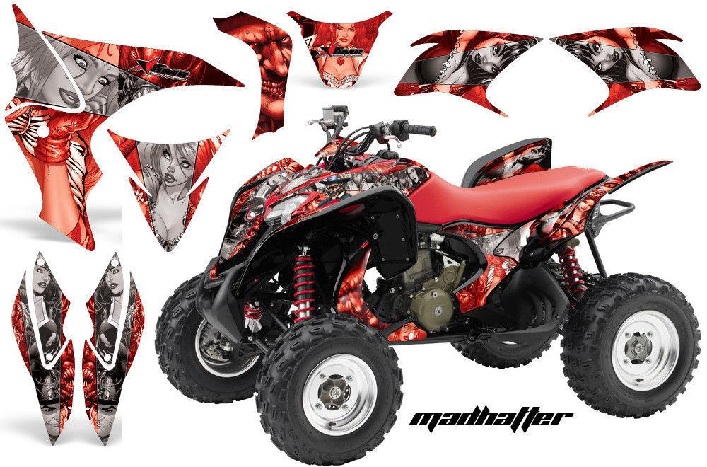 ATV Decal Graphic Kit Wrap Quad Stickers For Honda TRX 700XX 2009-2015 MAD S R