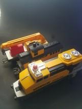 Caterpillar Construction Express Train Lot Motorized Train Set USED - $24.70