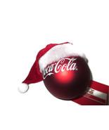 Coca-Cola Kurt Adler Santa Hat and Coca-Cola Christmas Ornament -Free Sh... - $10.64