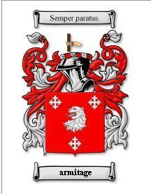 Armitage Coat of Arms Armitage Family Crest History Print  Bonanza