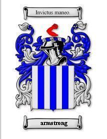 Armstrong Coat of Arms Armstrong Family Crest History Print  Bonanza