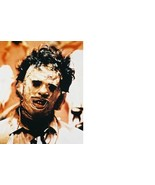 Texas Chain Saw Massacre Gunnar Hansen 28X35 Color Movie Memorabilia Photo - $45.95