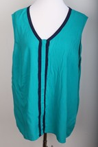 Tommy Hilfiger Sleeveless Tunic Blouse Shirt To... - $23.36