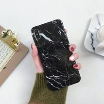 Marble Soft Silicone Back Cover For Samsung - $19.99