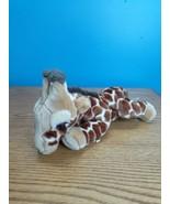 "Fao Schwarz Plush Bean Baby Giraffe Stuffed Animal Toy Safari Zoo - 13"" ... - $12.87"
