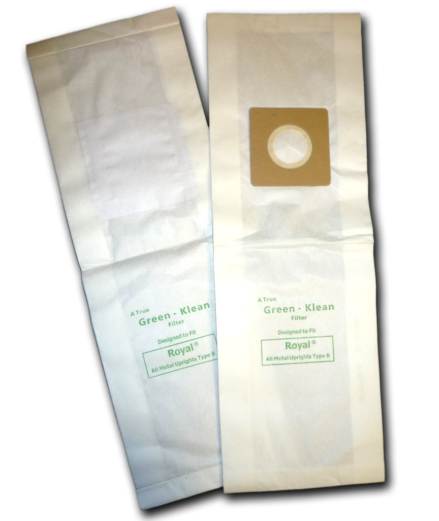 Green Klean GK-Ric80 Riccar 8000 Series Upright Type B Replacement Vacuum Bag...