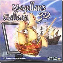 "Magellan""s Galleon 3D Screensaver [CD-ROM] Windows - $14.75"