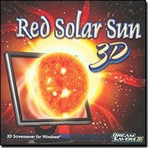Red Solar Sun 3D Screensaver [CD-ROM] Windows - $15.39