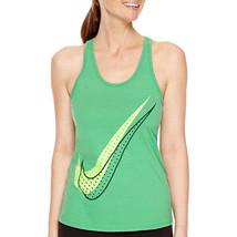 Nike Shadow Dot Racerback Tank Top Size S, M, L, XL New Spring Leaf - $13.99