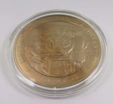 May 24, 1833 First National Temperance Convention Franklin Mint Bronze Coin - $12.16