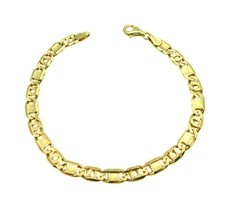 14K YELLOW GOLD MEN'S FANCY BRACELET - $485.80