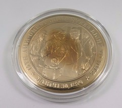 March 30, 1870 15th Amendment Guarantees Right To Vote Franklin Mint Bro... - $12.16