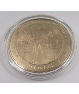 Jan. 16, 1883 Government Civil Service Based On Merit Franklin Mint Bron... - $12.16