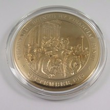 September, 1873 Thousands Ruined By Financial Panic Franklin Mint  Bronz... - $12.16