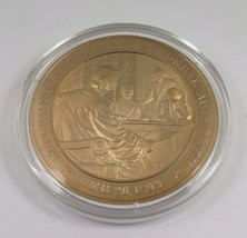 Feb. 20, 1809 Supreme Court Defends Federal Authority Franklin Mint Bronze Coin - $12.16