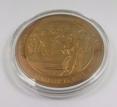 August 15, 1824 Lafayette Begins Hero's Tour Of America Franklin Mint  Coin - $12.16