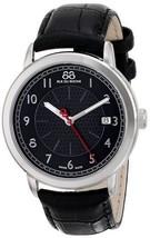 88 Rue Du Rhone Double 8 Origin Black Dial Leather Men's Watch 87WA120039 NEW!! - $189.99