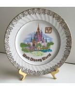 Walt Disney World 1970's Rare Vintage Gold CINDERELLA CASTLE Collector P... - $9.10