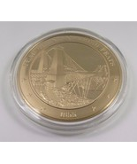 1855 Year Of Engineering Feats Franklin Mint Solid Bronze Coin American ... - $12.16