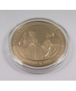 August 9, 1974 Gerald R. Ford Becomes 38th President Franklin Mint Bronz... - $12.16