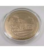 Feb. 4, 1887 Interstate Commerce Act Passed Franklin Mint Solid Bronze Coin - $12.16