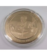 Mar. 31, 1968 Pres. Johnson Refuses To Run For 2nd Term Franklin Mint  Coin - $12.16