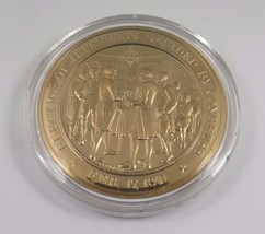 Feb. 17, 1801 Election Of Jefferson Decided By Congress Franklin Mint Coin - $12.16