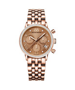 88 Rue Du Rhone Women's 87WA130002 Diamond Chronograph Swiss Rose Gold W... - $955.00