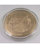 "1964 Equal Representation Means ""One Man, One Vote"" Franklin Mint Bronze... - $12.16"