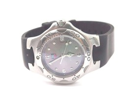 Tag Heuer Kirium Ladies WL1111 Diver Watch With Rubber Band - $649.59