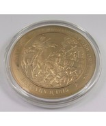 January 8, 1815 Jackson Repels British At New Orleans Franklin Mint Bron... - $12.16